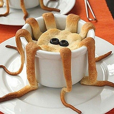 Craquez pour cette entrée tentaculaire.  Merci à http://www.tuxboard.com/food-art/