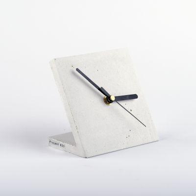 Zegar biurkowy - biały // Projekt B25