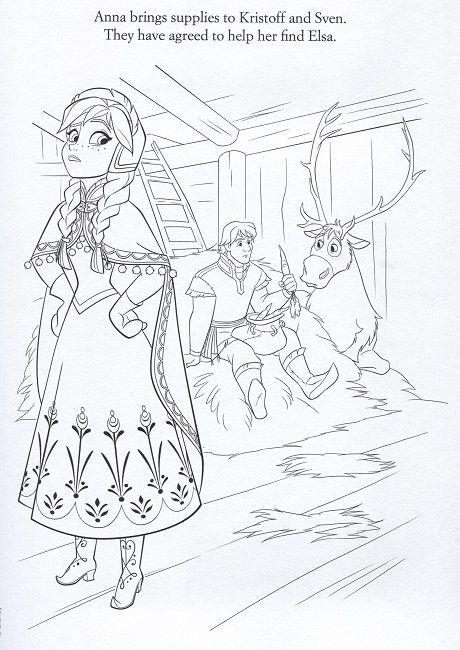 frozen let it go coloring page