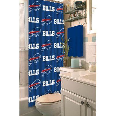 Northwest Co. NFL Bills Shower Curtain