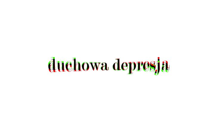 Depresja - jej duchowe źródła   odcinek 1
