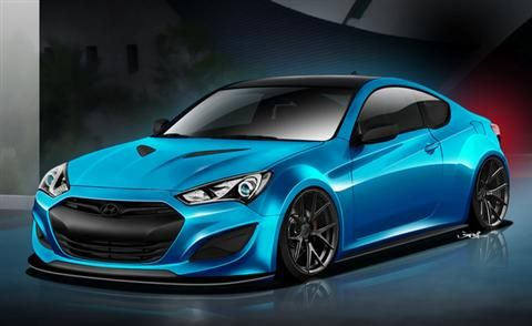 Allen Samuels Hyundai >> Hyundai Genesis Coupe Concept Teased   Concept Cars
