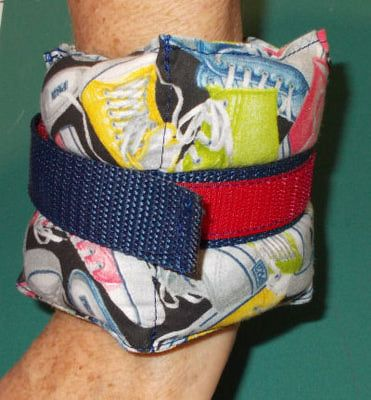 Diy Your Own Wrist and Ankle exercises  Weights
