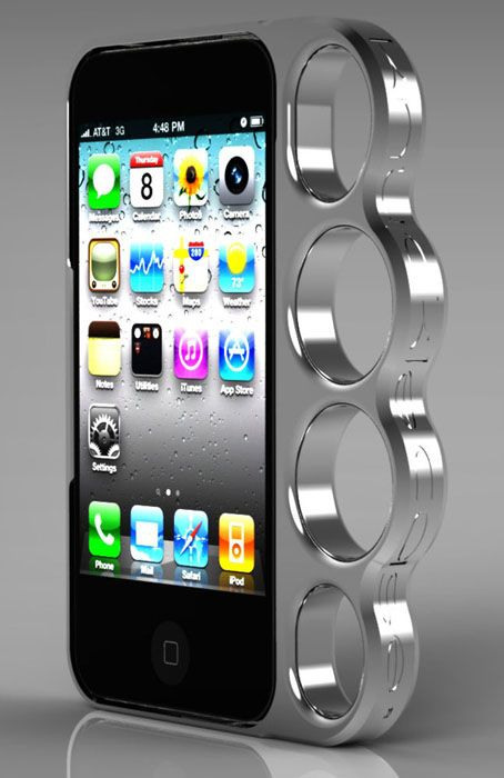 :: Eu compraria.: Iphone Cases, Iphone 4S, Gifts Ideas, Knuckle Iphone, Phones Cases, Knuckle Cases, Iphone 4 Cases, Brass Knuckle, Products