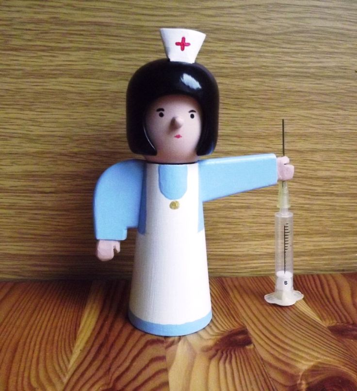 Nurse , kokeshi ,zdravotní sestra.