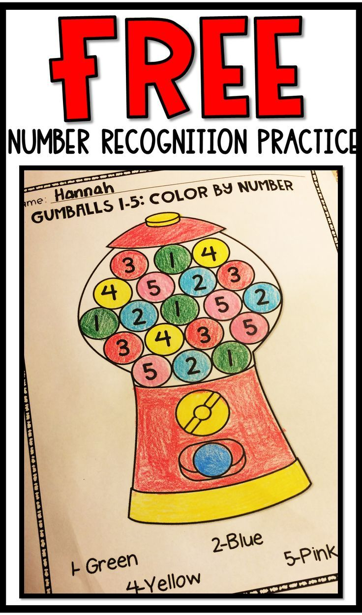 Free Number Recognition Activities For Preschool And Kindergarten Math Activities Number Recognition Activities Kindergarten Math Activities [ 1251 x 736 Pixel ]