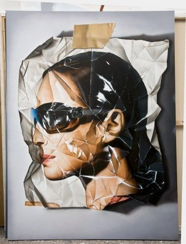 Hyper Realistic Paintings by Victor Rodriguez / All images that follow are paintings, all acrylic on canvas.