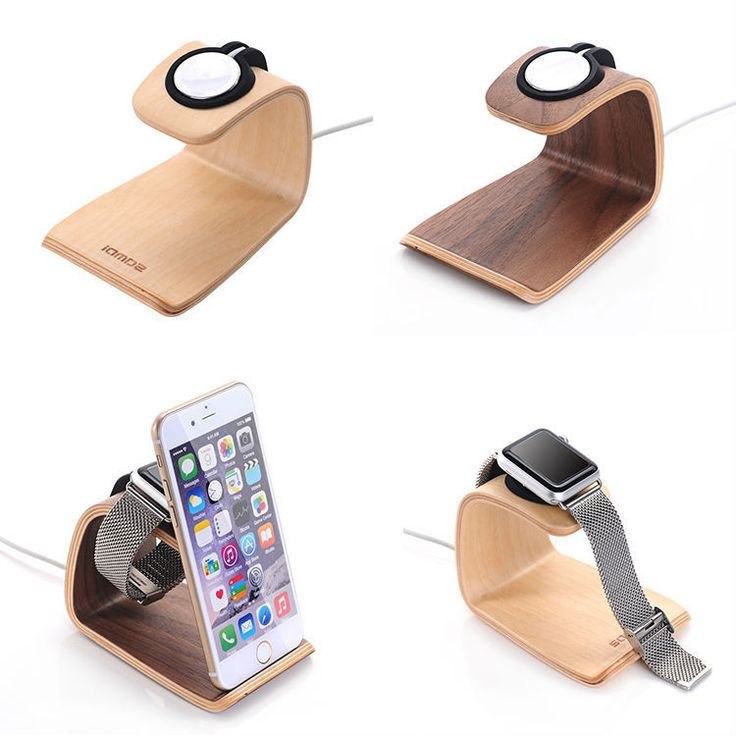 URVOI holder for apple watch stand display smart home charging stand repair walnut holder keeper charging dock White Birch stand -- Shop 4 Xmas n 2018. Offer can be found on  AliExpress.com. Just click the VISIT button.