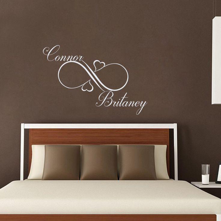 Las 25 mejores ideas sobre calcoman a de monograma en for Calcomanias para dormitorios