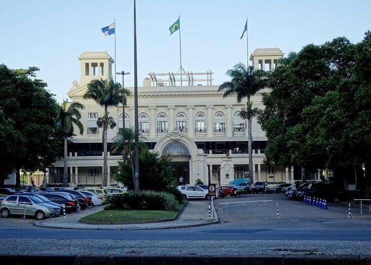 https://flic.kr/p/NPR9b6 | Joquei Clube do Rio de Janeiro | Entrada Principal, pela Praça Santos Dumont, na Gávea