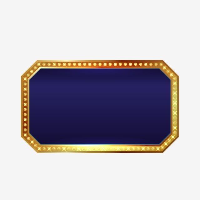 Casino Text Box Frame Rectangle Clipart Casino Gold Png And Vector With Transparent Background For Free Download Box Frames Frame Geometric Background
