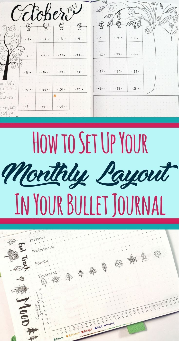 This fantastic reference teaches you how to set up the monthly layout section in your bullet journal! Suggests pages you should try in your bujo, including a cover page, a calendar, and various trackers and collections. Also encourages the use of a 'month in review' page. Fantastic ideas to jump start your bujo. Even includes best supplies for your bullet journal! Whether you are just learning how to start a bullet journal, or you're looking to take your bujo up a notch, check it out!