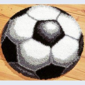 Football - Latch Hook Rug - Vervaco