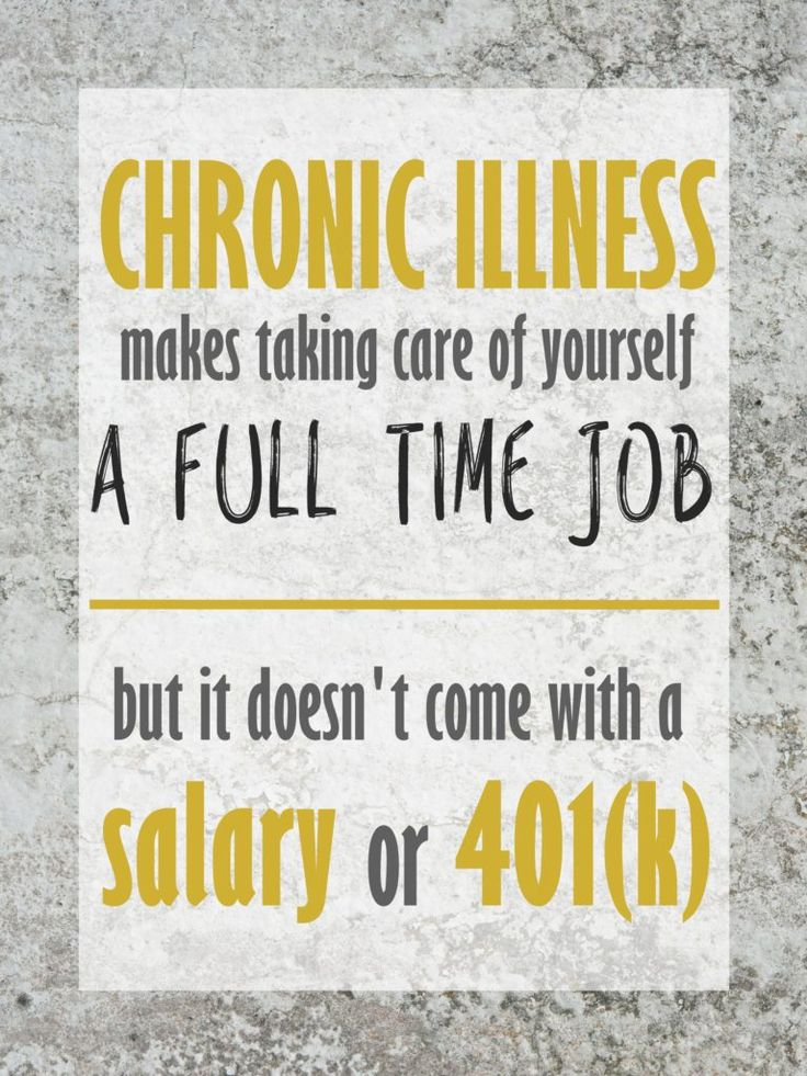 The Unfortunate Realities of Life with Chronic Illness. | My Meena Life