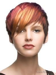 Look at this hair color!  LOVE it!!!