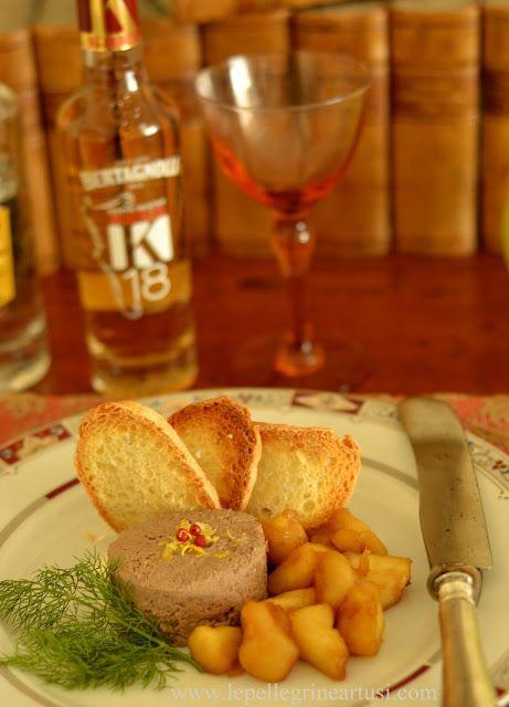 Le pellegrine Artusi: Patè di anatra alla grappa con mele saltate