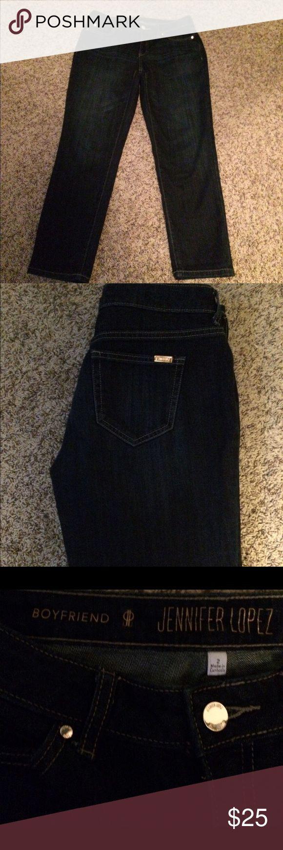 Jennifer Lopez Boyfriend Jeans Size 2 Jennifer Lopez Boyfriend Jeans. NWOT. Jennifer Lopez Pants