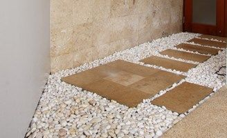 25 best ideas about pea gravel cost on pinterest small for Landscaping rock estimator