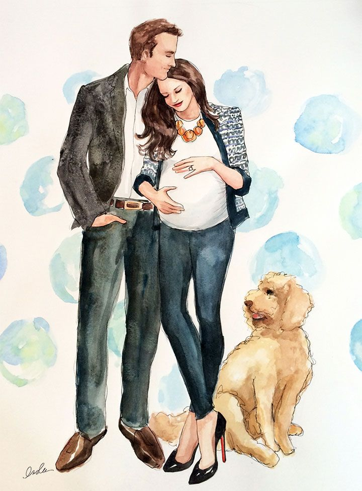 #Family Portrait for Paperista The Sketch Book #Inslee Haynes