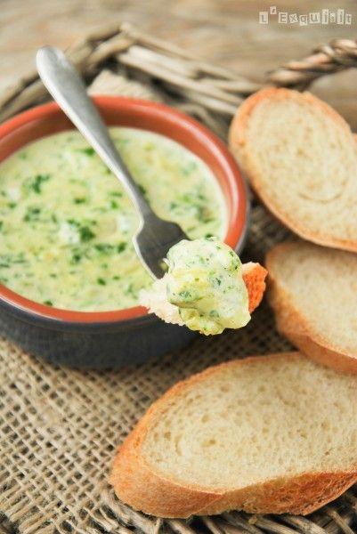 Dip de espinacas y alcachofas a los tres quesos - L'Exquisit