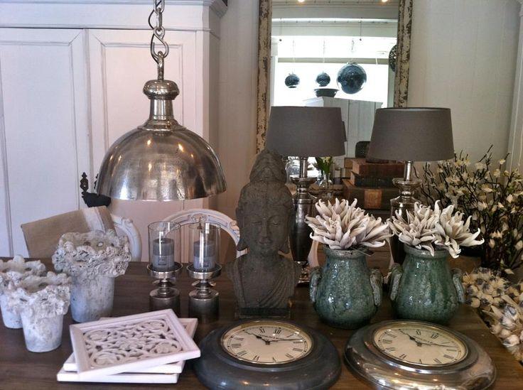 collectie PTMD potten en lampen