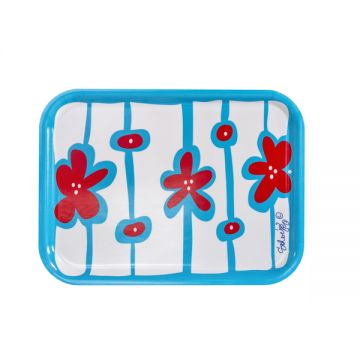 Sweet wooden tray for a snack or a nice display of candles.