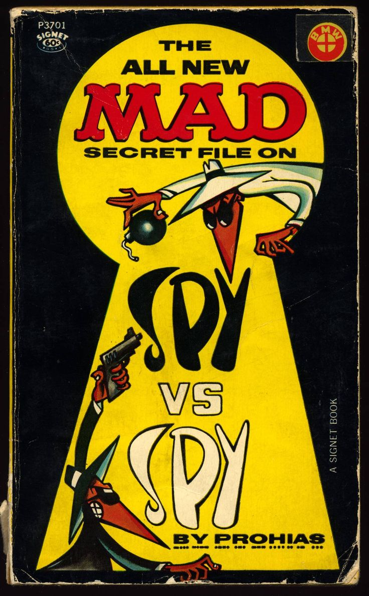 The All New Mad Secret File On Spy Vs Spy - Imgur