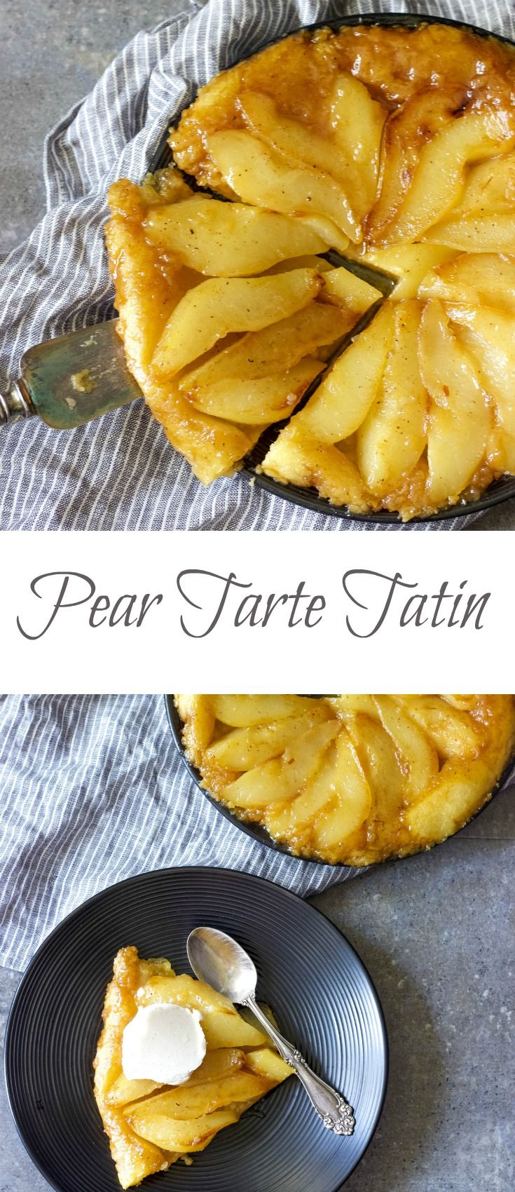 Do you want a bite of something scrumptious? Try this easy French dessert. Pear Tarte Tatin is easy to prepare, flavorful and crowd-pleasing dessert.