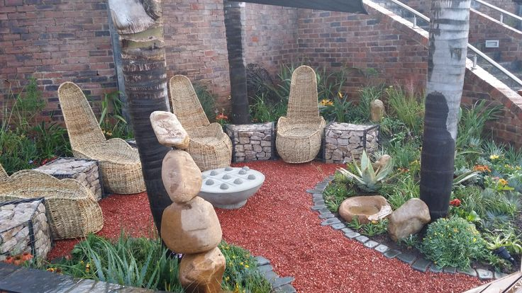 modern boma area .crazy daisy landscapes gauteng | Plants ... on Modern Boma Ideas id=53894