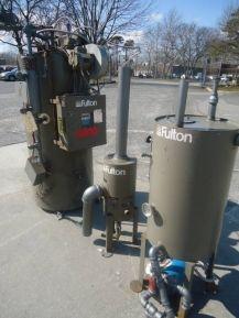 1 Used Fulton Fuel Fired Steam Boiler Model Ics 8 5