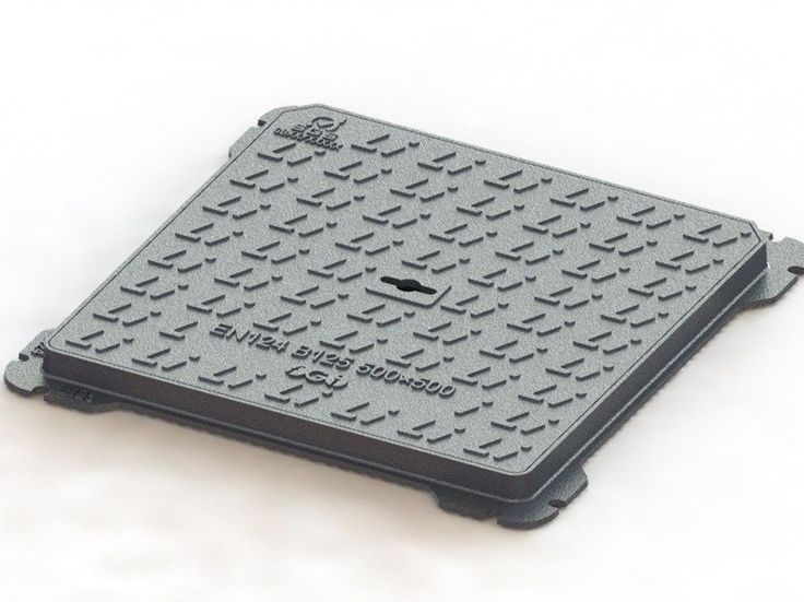 Manhole cover and grille for plumbing and drainage system B125 by LINK industries