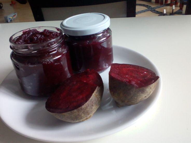 Řepný kečup | recept. Červená řepa je velice oblíbenou zeleninou. Obsahuje spoustu zdraví prospěšných látek, např. ky