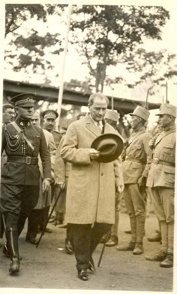"""""""We must liberate our consepts of justice, our laws and legal institutions from the bonds which hold a tight grip on us altought they are incompatible with the needs of our century."""" M.K.Atatürk."""