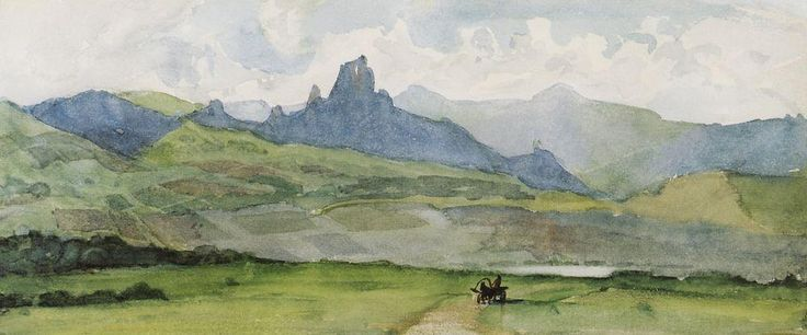 Минусинская степь.  1873