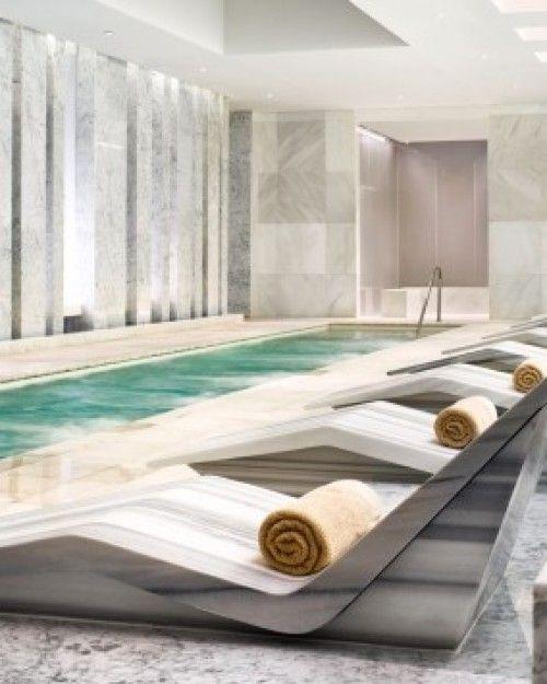 Fontainebleau Miami Beach    Miami Beach, Florida  The 40,000-square-foot Lapis Spa features a treatment menu thick as a novel. #Jetsetter