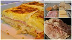 Prova le lasagne di pane, filanti e con tanto prosciutto!