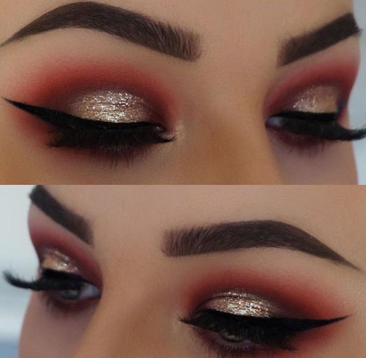 Best 25 Red Glitter Eyeshadow Ideas On Pinterest Red