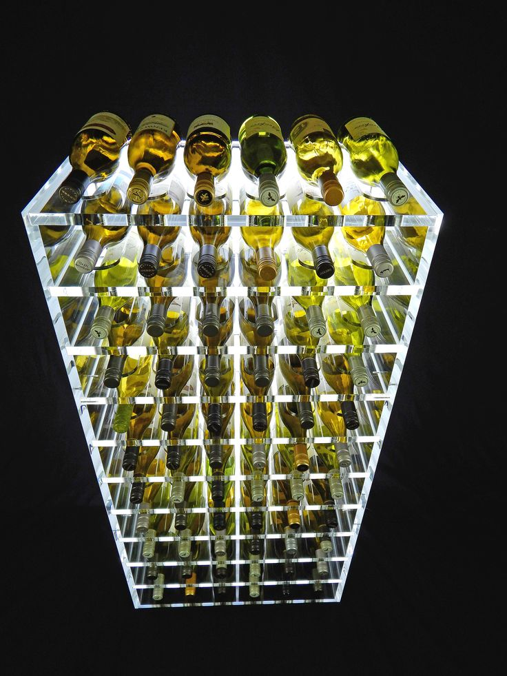 17 best images about luma acrylic wine racks on pinterest sculpture design and wine cellar - Wine rack small space collection ...