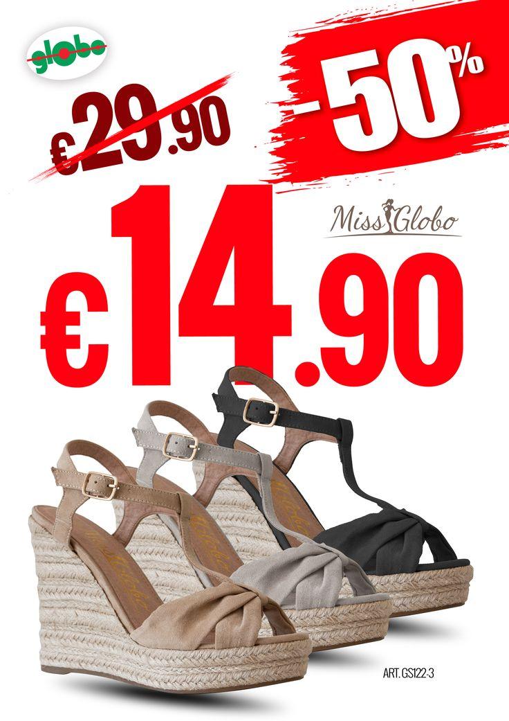 Calzature donna Miss Globo a -50%!!