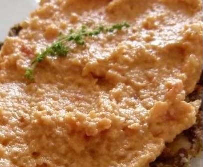 Rezept getrocknete Tomaten-Mozzarella-Frischkäse von Kirschlolli2 - Rezept der Kategorie Saucen/Dips/Brotaufstriche