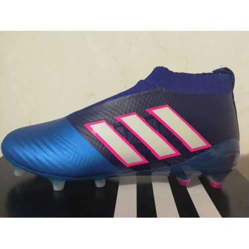 Adidas ACE - Buy Adidas ACE 17 Purecontrol FG Blue Peach Football Shoes