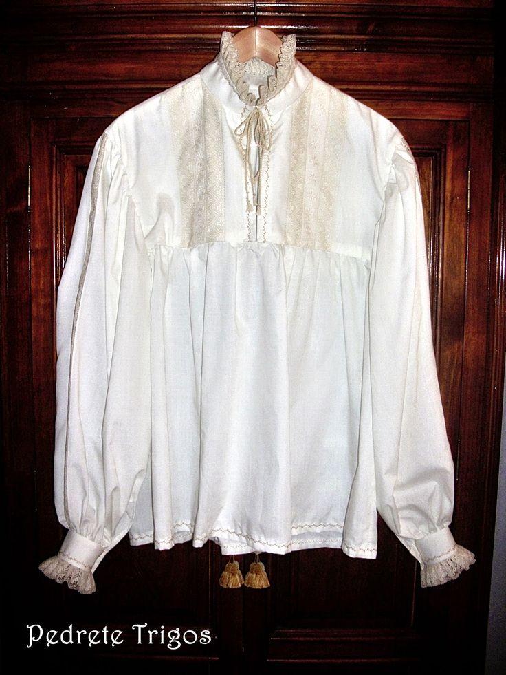 El aprendiz desastre.: Camisa labrada.