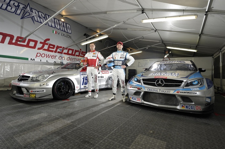 The Official Mercedes C63 AMG of Vitantonio Liuzzi and Thomas Biagi