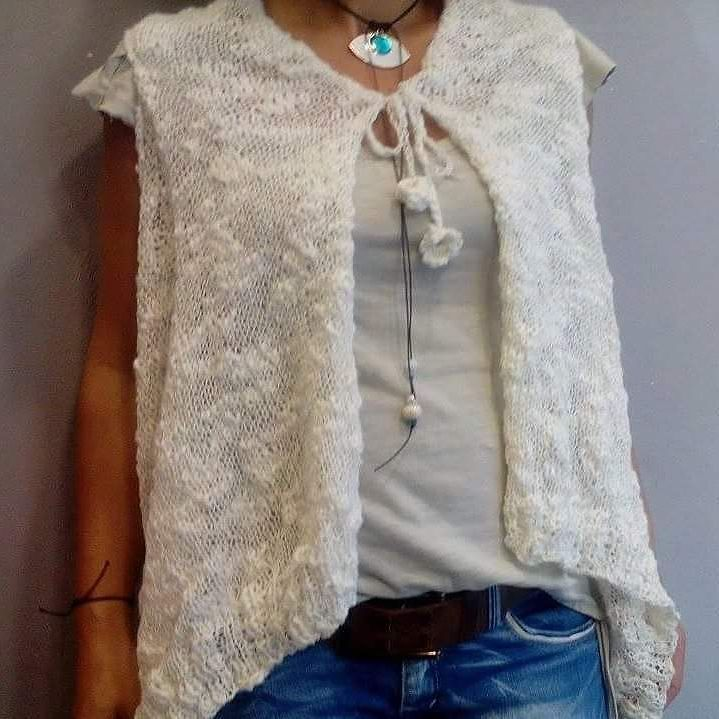 sweater #sweaters #vest #knitwear #summer #boho