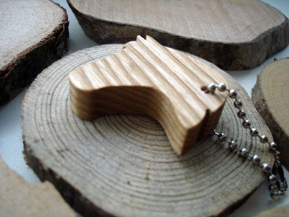 Houten paard hoofd sleutel ketting houten paard dierlijke