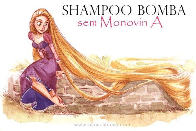 Mais Estilosa: Shampoo bomba sem monovin a: faz o cabelo crescer mais rápido