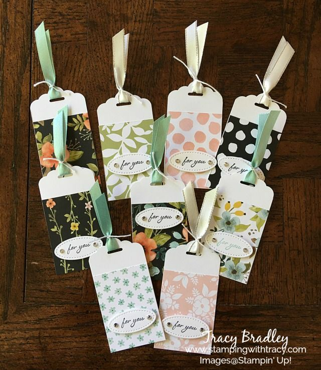 Need a quick tag? You'd be surprised how quick these are to make! You can attach them to a gift with Baker's Twine or use a glue dot to adhere them directly to a gift as I&#…