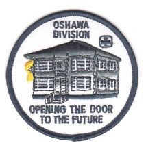 GGC OSHAWA DIVISION Ont Patch Badge Discontinued Guides Girl Canada Scouts