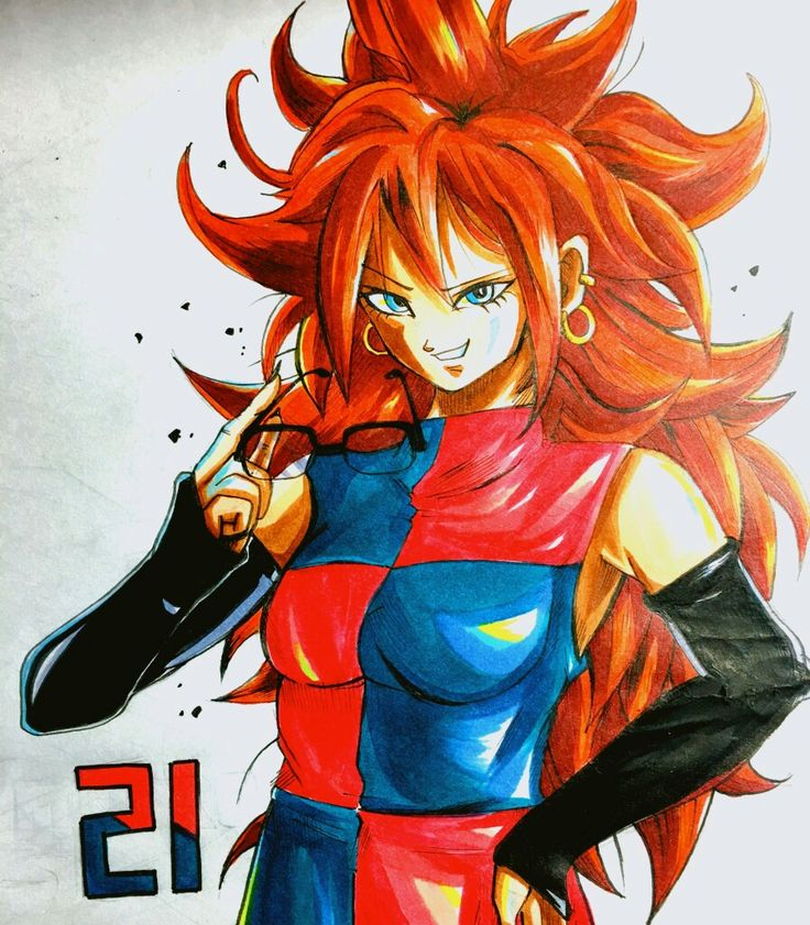 Pin by carver eighteen on android 21 pinterest dragon ball dragon ball z and dragon ball gt - Dragon ball z 21 ...