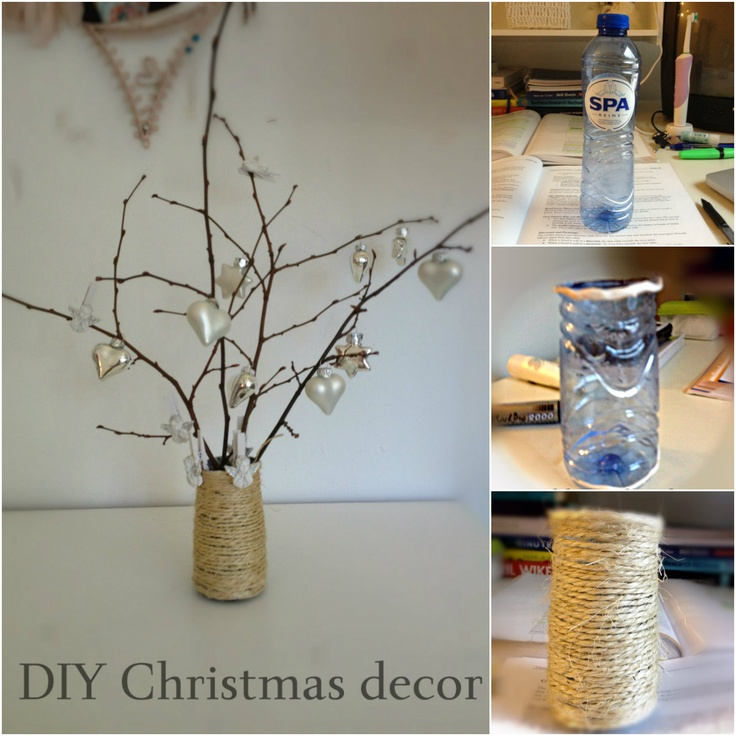 DIY Christmas decor. Cheap and beautiful.   http://sannamsterdam.wordpress.com/2012/12/11/diy-christmas-decor/